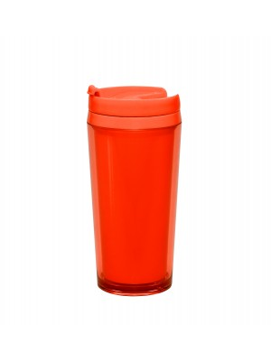 Zak!Designs - Hot Beverage Drinkbeker - Dubbelwandig - Coral
