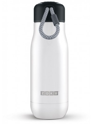 Zoku Hydration Rvs Drinkbeker 350 ml - Wit
