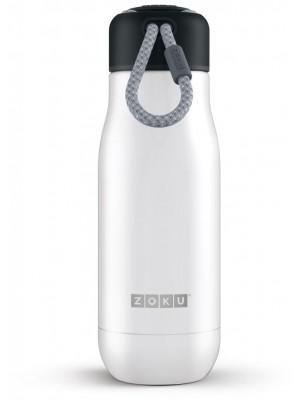 Zoku Hydration Rvs Drinkbeker 350 ml - Wit