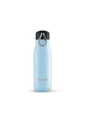 Zoku Hydration Rvs Drinkbeker 500 ml - Licht Blauw