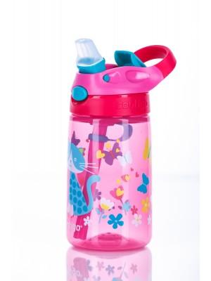 Contigo Drinkbeker Kids Gizmo Sip Autoseal Cherry Cat - roze