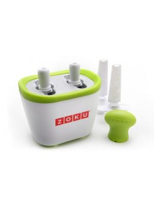 Zoku Quick Pop Maker Duo - Wit/groen