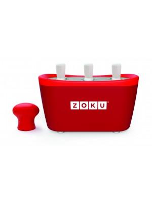 Zoku Quick Pop Maker Trio - Rood