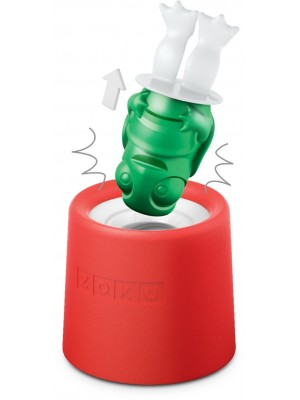 ZOKU Icelolly Pop Maker Rood Schildpad