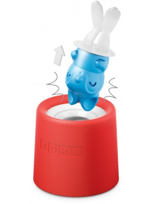 ZOKU Icelolly Pop Maker Rood Konijn