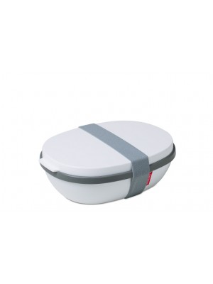 Mepal Lunchbox Ellipse DUO - wit