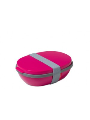 Mepal Lunchbox Ellipse DUO - pink
