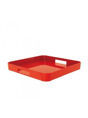 Zak!Designs Gallery Dienblad Vierkant - Melamine - 33 x 33 cm - Rood
