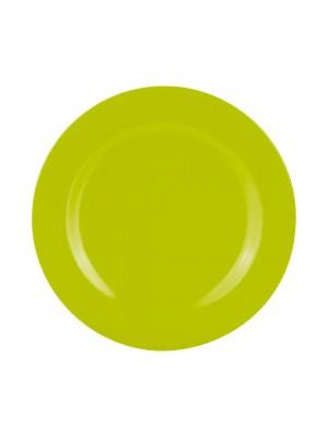 Zak!Designs - BBQ Sorbet dinerbord Ø 28 cm - Lime groen