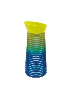 Zak!Designs Swirl - Waterkaraf - 1 liter - Cold Rainbow