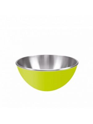 Zak!Designs Gemini Serveerschaal - Dubbelwandig - Rvs - Ø 16 cm - Groen