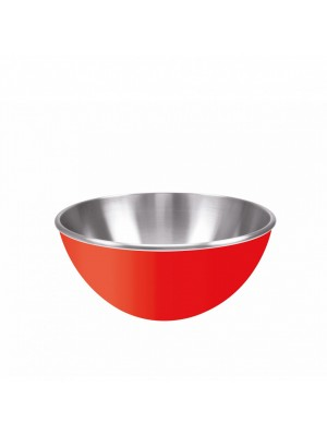 Zak!Designs Gemini Serveerschaal - Dubbelwandig - Rvs - Ø 16 cm - Rood