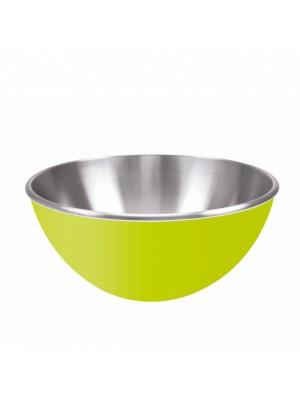 Zak!Designs Gemini Serveerschaal - Dubbelwandig - Rvs - Ø 25 cm - Groen