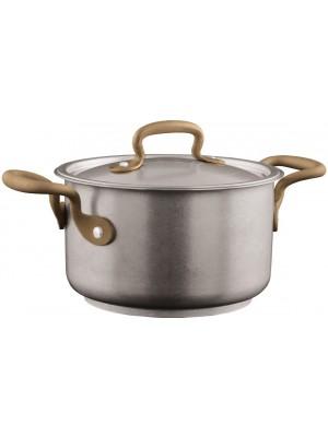 Sambonet Vintage Kookpan Hoog 3,8  L met Deksel