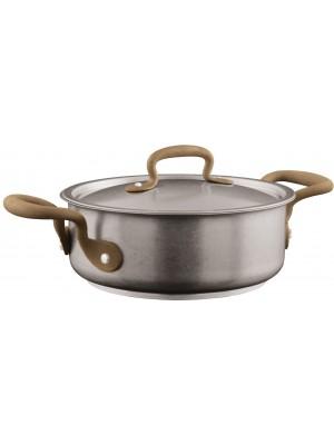 Sambonet Vintage Kookpan Laag 2,5 L met Deksel