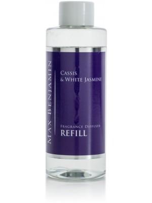 Max Benjamin Geurrefill voor Diffuser Classic 150 g - Cassis & White Jasmine