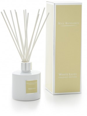 Max Benjamin Geurdiffuser Classic 150 g - White Lilies