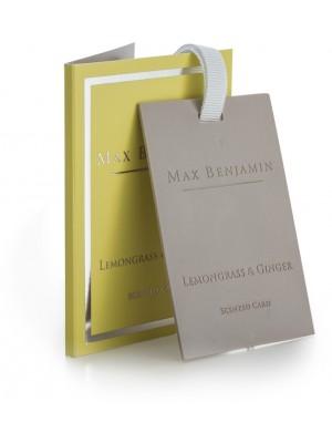 Max Benjamin Geurkaart - Lemongrass & Ginger