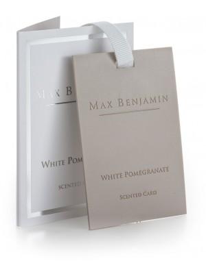 Max Benjamin Geurkaart - White Pomegranate