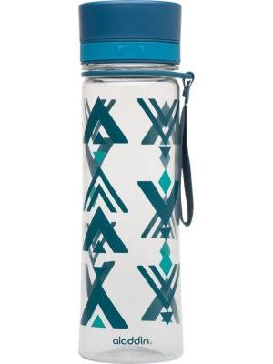 Aladdin Aveo Waterfles 0,35 liter Marina met print - blauw