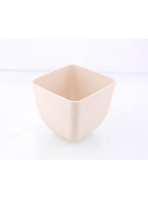 Bamboe Design Serveerschaaltjes, set van 3 stuks - wit