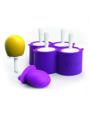Zoku Icelolly Pop Maker Giant - Voor 4 stuks - Paars
