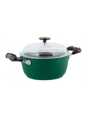 Sambonet Vintage Kookpan - Incl. Deksel - Aluminium - Ø20cm - Groen