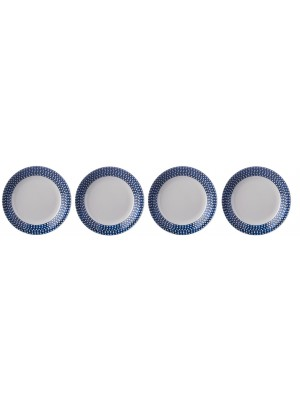 Mepal Diep bord Flow 220 mm set van 4 - Mix & Match