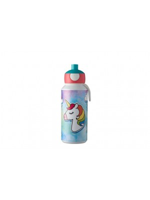 Mepal drinkfles Campus pop-up 400 ml - Unicorn