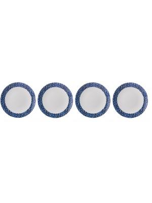 Mepal Ontbijtbord Flow 230 mm set van 4 - Mix & Match