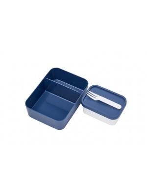Mepal Set inhoud bento lunchbox  - Nordic Denim