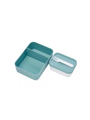 Mepal Set inhoud bento lunchbox  - Nordic Green