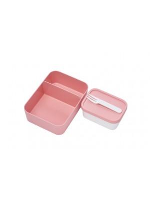 Mepal Set inhoud bento lunchbox  - Nordic Pink