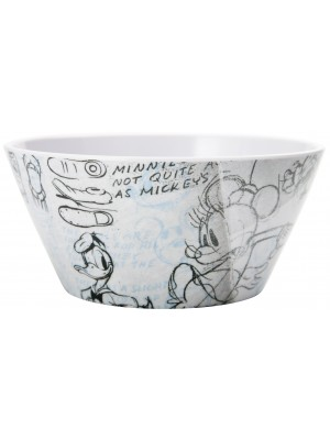 Zak!Designs Disney Classic Gang  Ontbijtkommetje 15 cm - Zwart