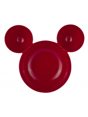 Zak!Designs Disney Mickey Serveerschaal - Rood