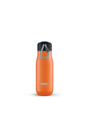 Zoku Hydration Rvs Drinkbeker 350 ml - Oranje