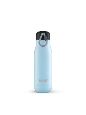 Zoku Hydration Rvs Drinkbeker 500 ml - Licht Blauw