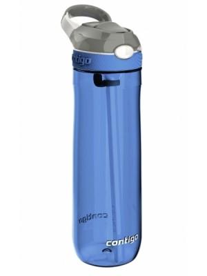 Contigo Waterfles Ashland Autospout 720 ml - blauw/grijs