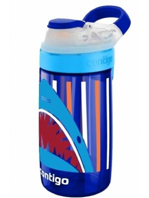 Contigo Drinkbeker Kids Gizmo Flip Autospout 420 ml - Sapphire jaws - blauw