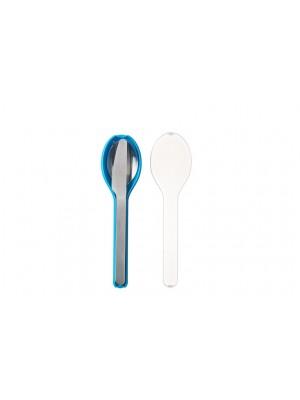 Mepal Bestekset 3-delig Ellipse - Aqua (blauw)