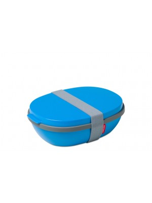 Mepal Lunchbox Ellipse DUO - Aqua (blauw)