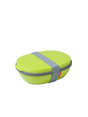 Mepal Lunchbox Ellipse DUO - Lime (lichtgroen)