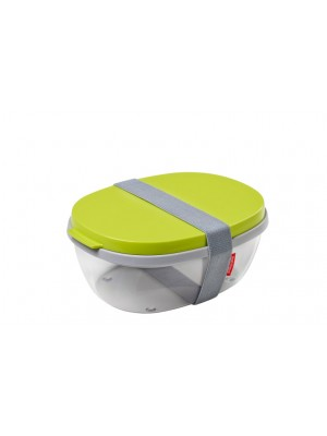 Mepal Saladbox Ellipse - Lime