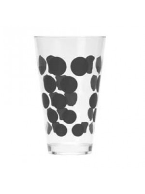 Zak! Designs Dot Dot Drinkbeker 30 cl - Zwart