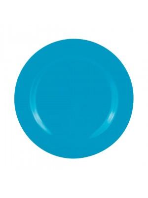 Zak!Designs - BBQ Sorbet dinerbord Ø 28 cm - Aqua blauw