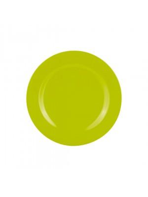 Zak!Designs - BBQ Sorbet ontbijtbord (salade)bord Ø 24 cm - Lime groen