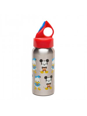 Zak!Designs Disney Big Face Mickey drinkfles 48 cl - Rood