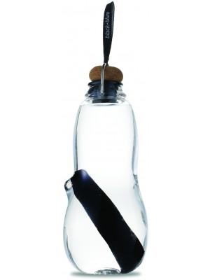 Black+Blum Drinken Eau Good Beker 800 ml - Zwart/Transparant