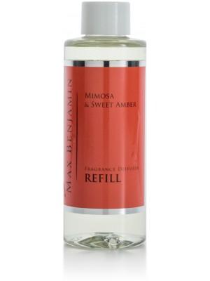 Max Benjamin Geurrefill voor Diffuser Classic 150 g - Mimosa & Sweet Amber