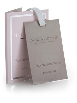 Max Benjamin Geurkaart - French Linen Water